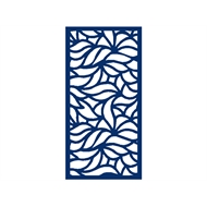 Protector Aluminium 1200 x 2400mm ACP Profile 15 Decorative Panel Unframed - Dark Blue