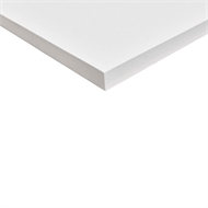 Litestone 950 x 900 x 40mm White Side Panel