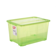 Ezy Storage 32L Green Storage Tub