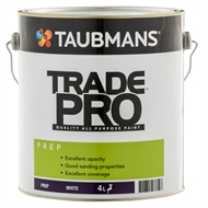 Taubmans Trade Pro 4L White Prep Undercoat Paint