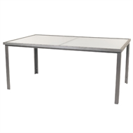 Hartman 180 x 110cm Freestyle Table Silver