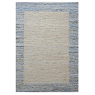 Rug Republic 160 x 230cm Harry Denim Hemp/Recycled Fabric Rug