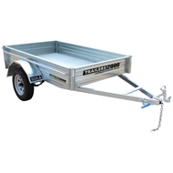 Trailers 2000 7 x 4ft Galvanised Box Trailer