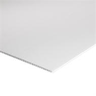 Project Panel White Corflute - 900mm x 600mm x 3mm