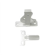 Protector Aluminium D-Latch and Striker Pack - Surfmist