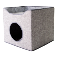 Happy Tails 40 x 40 x 35cm Cat Hideaway Box