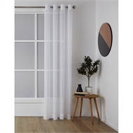 Windoware 1400 x 2230mm Sheer Misty Eyelet Curtain - Charcoal