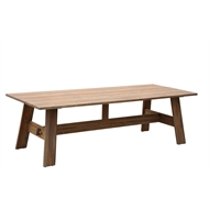 Mimosa 250 x 100 x 75cm Infinity Teak Timber Table