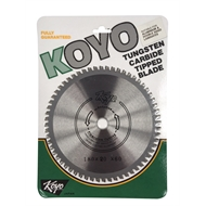 Koyo 180mm 60T 20/16mm Bore Circular Saw Blade For Timber Cutting