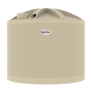 Polymaster 10200L Round Corrugated Poly Water Tank - Merino