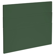 Kaboodle 900mm Vivid Basil Alpine 3 Drawer Panels