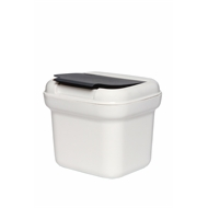 Willow 5L Assorted Small Flip Top Bin