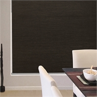 Windoware 120 x 210cm Glamour Blockout Roller Blind - Black