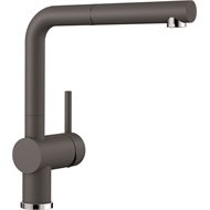 Blanco WELS 5 Star 6/min LINUSS Pull Out Rock Grey Mixer Tap