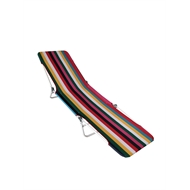 Marquee Striped Adjustable Sunlounge