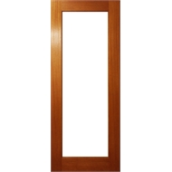 Woodcraft Doors 2040 x 820 x 35mm One Lite Door With Clear Low E Glass