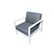 Mimosa Aluminium Coral Bay Single Seater Sofa