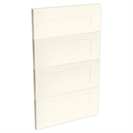 Kaboodle 450mm Antique White Alpine 4 Drawer Panels