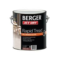 Berger Jet Dry 4L Ferric Red Rapid Tread Oil Based Gloss Paint