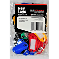 Taskmaster Key Tag with Ring - 50 Pack