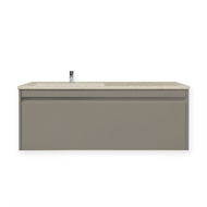 Forme 1200mm Colourstone / Crust Quay Undermount Wall Hung Basin