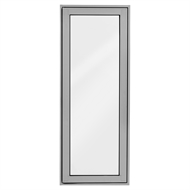 Polar Eco-View 600 x 1545mm Silver Grey Openable Window