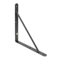 Carinya 150 x 150 x 20mm Black Studio Bracket