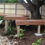 Good Times 900 x 90 x 90mm Treated Pine Modular Decking Feature Post