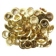 Spear & Jackson 7mm Tarpaulin Eyelets - 200 Pack
