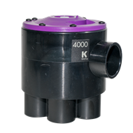 K-Rain 4000 Series Indexing 4 Outlet Valve No Cam
