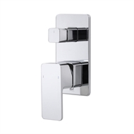 Dorf Epic Chrome Bath / Shower Mixer With Diverter