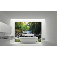 Bellessi 1220 x 2440 x 6mm Motiv Polymer Bathroom Panel - Cascades