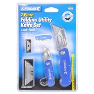 Kincrome 2 Piece Folding Utility Knife Set