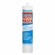Selleys 400g Gun Grade White Butylmastic Sealant