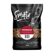 Smokin 5kg Ironbark BBQ Wood Pellets