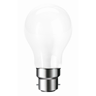 Brilliant 53W Frosted Warm White Bayonet Halogen Globes - 6 Pack