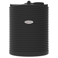 Polymaster 4500L Tall Round Corrugated Poly Water Tank - Monument