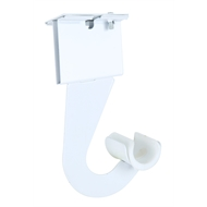 Flexi Storage White Basket Tower Bracket And J Hook