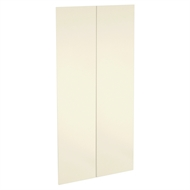 Kaboodle 900mm Ice Cream Modern Pantry Doors - 2 Pack