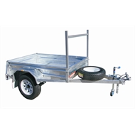 For Hire: 6 x 4 Box Trailer 24 Hour Rate