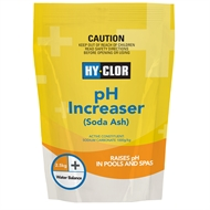 Hy-Clor 2.5kg Soda Ash pH Increaser Soft Pack
