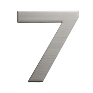 Sandleford 150mm 7 Stainless Steel Plaza Numeral