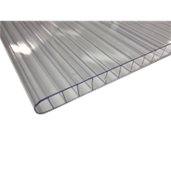 Sunlite 10mm Twinwall x 2.0m Clear Polycarbonate Roofing