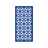 Protector Aluminium 900 x 1200mm ACP Profile 12 Decorative Panel Unframed - Light Blue