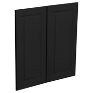 Kaboodle Luminess Metallic Heritage Corner Base Cabinet Doors -  2 Pack