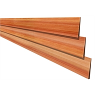 170 x 19mm Knotty Weatherboard Natural - Per Linear Metre