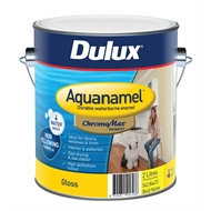Dulux Aquanamel 2L High Gloss Bold Yellow Enamel Paint
