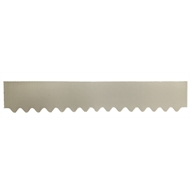 GumLeaf 1200mm Colorbond Metal Corrugated Gutter Guard - Surfmist