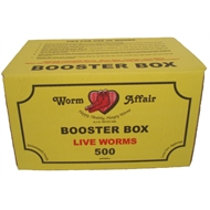 Worms Organic Booster Box 500 (approx)