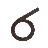 Sandleford 135mm Century Gothic Rustic Self Adhesive Numeral 6